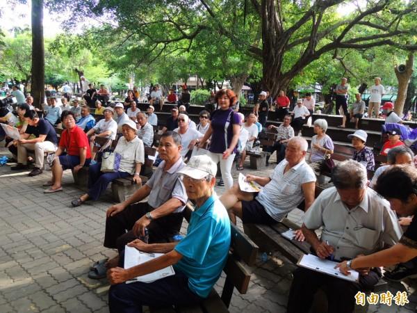 台灣人口老化嚴重,老化速度甚至是「全球第一」。圖與新聞無關。(資料照,記者葛祐豪攝)