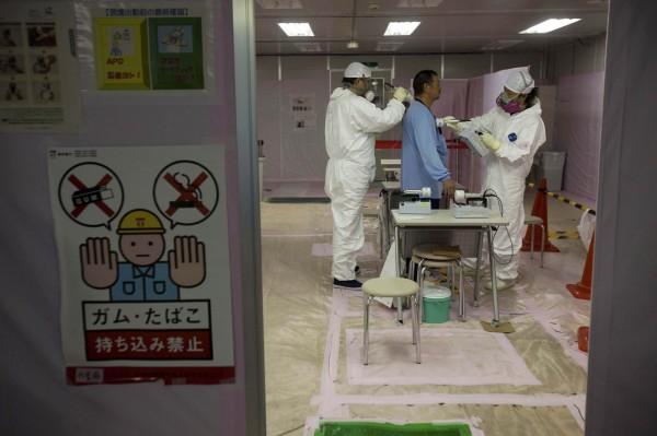 日本當局指出,一名現年41歲的前福島核電廠員工,確定因核災的放射線而罹患血癌,並已達職災標準。(資料照,彭博)