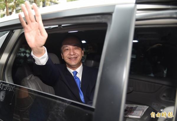 民進黨前立委郭正亮認為,朱立倫(圖)是為了選後續任黨主席,且為2020總統選舉取得再戰優先權。(資料照,記者簡榮豐攝)