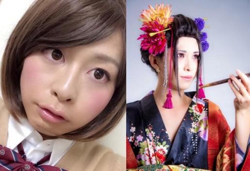 日本東京工業大學舉辦的「Mr.美少女」選拔,得主都是美到讓許多女人汗顏的偽娘。(圖擷取自Twitter/titech_mrgirl)