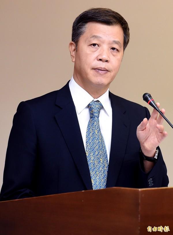 勞動部長陳雄文表態不贊成教師和醫師納入勞基法保障對象。(資料照,記者朱沛雄攝)