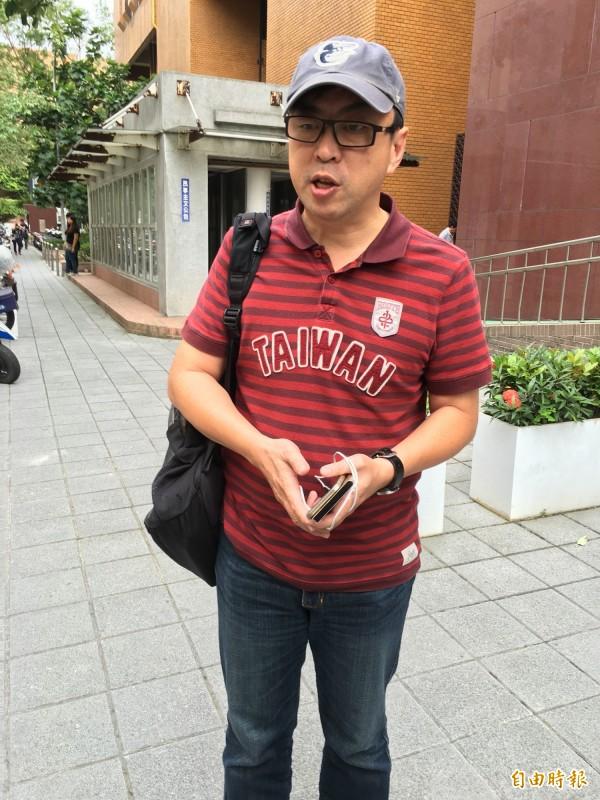 段宜康在臉書強力抨擊朱立倫。(資料照,記者張文川攝)