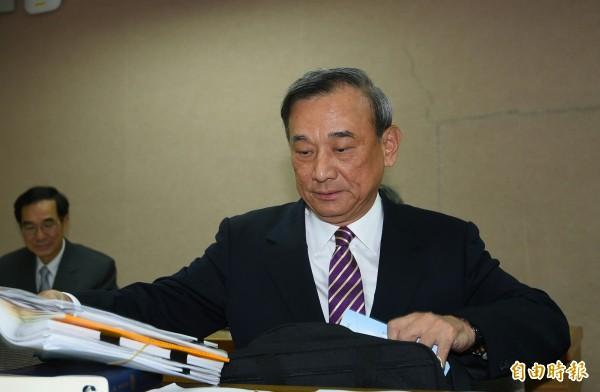 法務部次長陳明堂22日赴立法院報告並備詢。(記者張嘉明攝)