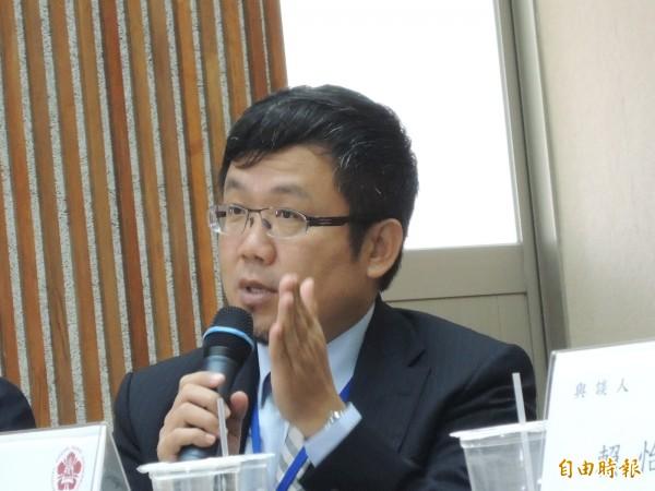 南市副秘書長劉世忠認為,城市外交是輔助國家外交的重要軟實力。(記者洪瑞琴攝)
