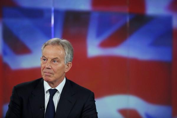 英國前首相布萊爾(Tony Blair)。(資料照,彭博)