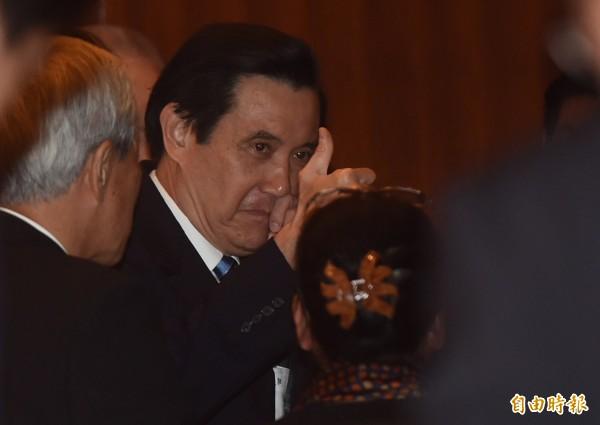 慶祝台灣光復70週年紀念大會25日舉行,總統馬英九出席致詞。(記者簡榮豐攝)