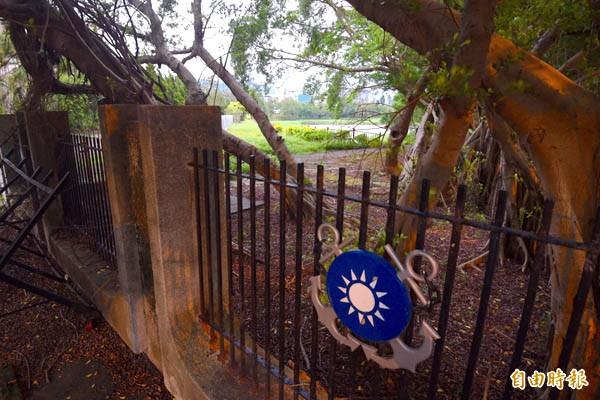 位於大直大直的蔣經國故居「七海園區」四周是國安局及海軍司令部。(記者羅沛德攝)