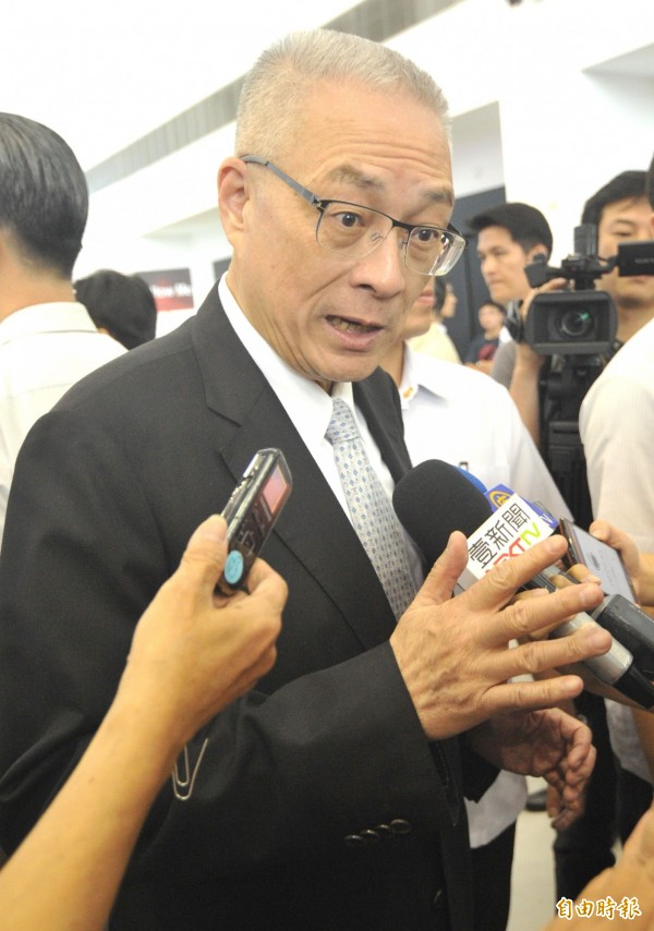 副總統吳敦義今仍表示,「宇昌案」與國民黨完全無關,該向社會說明的是蔡英文。(資料照,記者黃志源攝)
