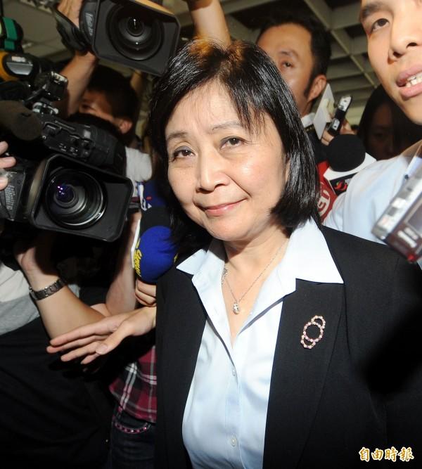 前經建會主委劉憶如針對宇昌案發表聲明,表示將會提出上訴。(資料照,記者方賓照攝)
