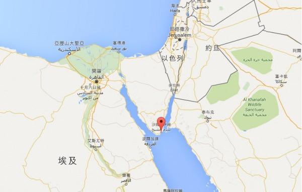 一架埃及飛往俄國的班機墜毀埃及境內。(圖片擷取自網路)