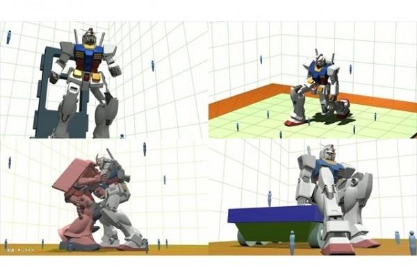 要讓鋼彈在真實世界中動起來,首先要解決讓大型直立機器人雙腳行走的難題。(圖截取自AnimeAnime網站)