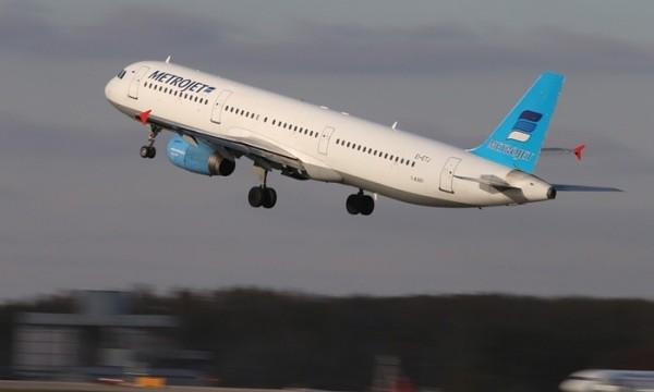 俄羅斯近年頻傳空難,圖為今天發生墜毀的康加林姆航空公司(Kogalymavia)A321型客機。(圖擷自《衛報》)