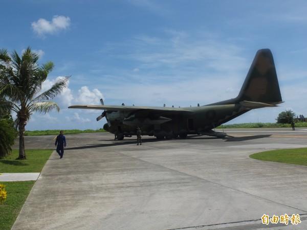 太平島為南海諸島最大島嶼,目前由我國國軍駐守。(資料照,記者曹伯晏攝)