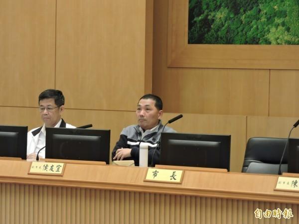 對於台北市長柯文哲指,新北市欠台北市8623萬餘元的公車票價補貼款。副市長侯友宜表示,一開始就是台北市算錯,新北市「該還就還!」(資料照,記者賴筱桐攝)