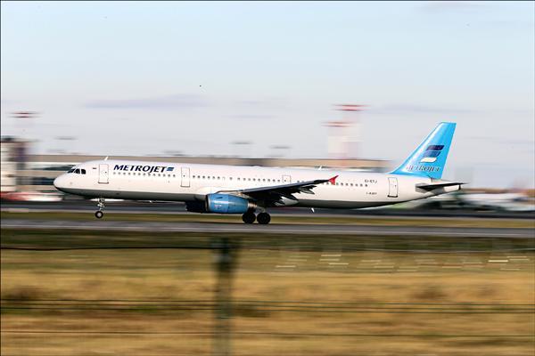 俄羅斯科加雷姆航空公司的空中巴士客機十月三十一日墜毀於西奈半島。圖為該架客機十月時的身影(美聯社)