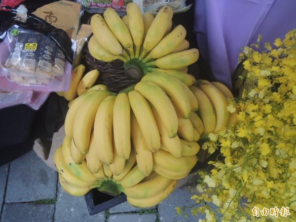 香蕉量少價高,農委會呼籲改吃柑橘等秋冬盛產水果。(記者湯佳玲攝)
