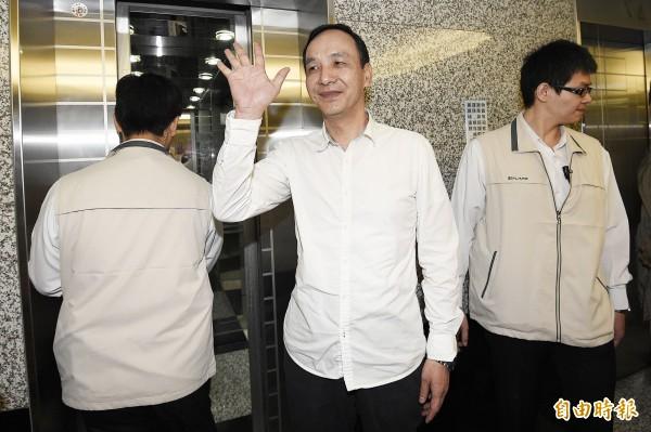 國民黨主席兼總統參選人朱立倫。(資料照,記者陳志曲攝)
