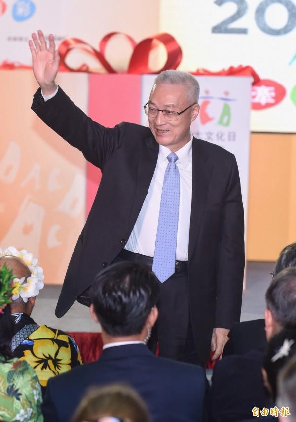 吳敦義副總統(圖)與王金平結盟,提前與馬英九總統「分道揚鑣」?(資料照,記者劉信德攝)
