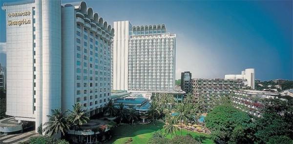 馬習會雙方會面地點,是在新加坡香格里拉飯店(Shangri-La Hotel)。(圖片取自飯店官方網站)