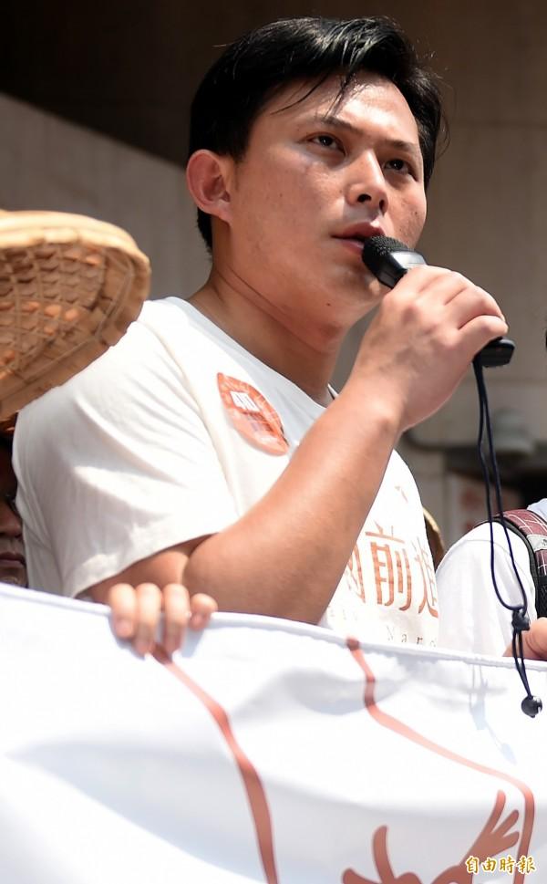 時代力量黃國昌晚間PO文表示,4日上午9點將赴立法院抗議馬習會!(資料照,記者朱沛雄攝)