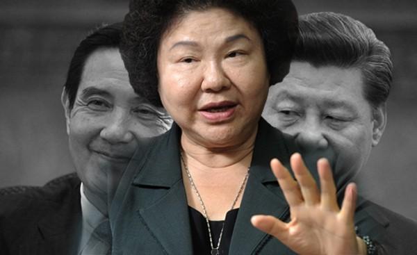 馬英九將在新加坡與習近平會面,陳菊批失去民意支持的馬英九,不能代表台灣民意。(本報合成)