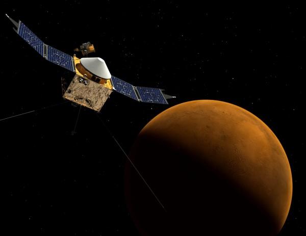NASA宣布,即將在美國東岸時間5日下午2點(台灣時間6日凌晨3點)召開記者會,發表對於火星大氣層最新的「關鍵發現」。(歐新社)