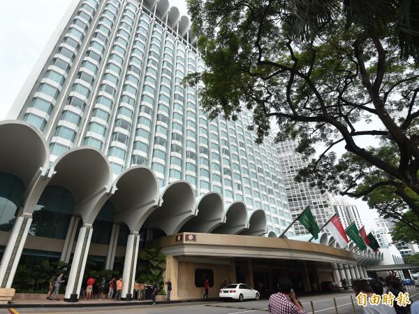 再過不到一個小時馬習會即將在新加坡香格里拉飯店登場。(資料照,記者廖振輝攝)