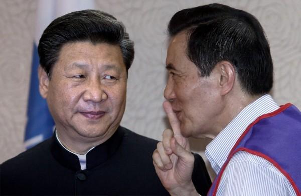 台灣教授協會發表聲明,譴責馬英九總統自陷於「一中框架」陷阱,讓中國國家主席習近平「招之即來揮之即去」,等於向世界承認中國的訴求。(本報合成照)