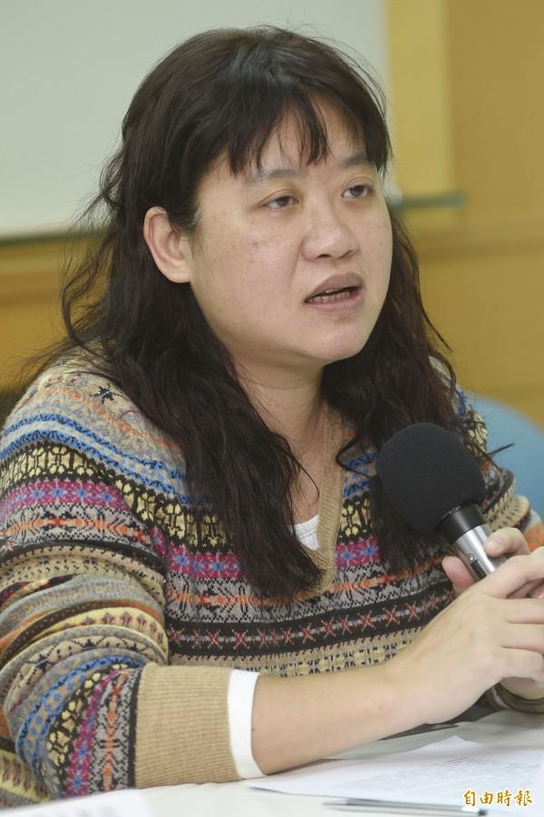 台大國發所教授劉靜怡在臉書對兩岸關係發表看法。(資料照,記者陳志曲攝)