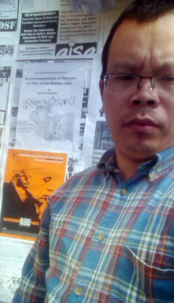 前《南都網》編輯李新,露面揭露中國媒體自由的黑暗面。(圖片擷取自《自由亞洲電台》)