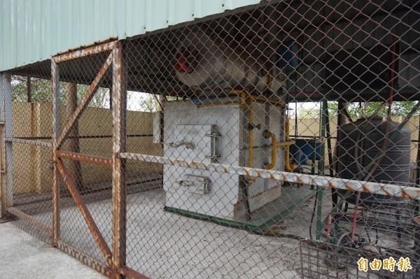 動物之家后里園區動物屍體焚化爐將停止改建。(記者歐素美攝)