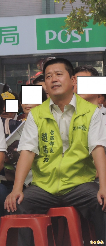 台西鄉長趙瑞和涉暴力討債案,20萬元交保。(記者廖淑玲攝)