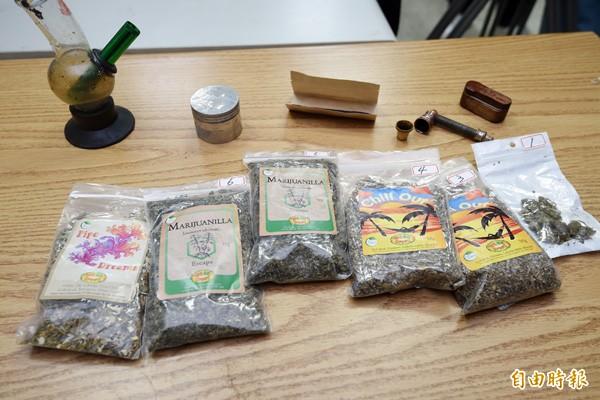 大麻花檔案照。(記者羅沛德攝)