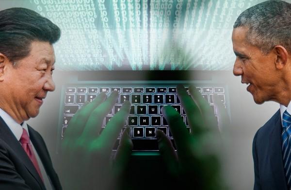 美國與中國今年9月才剛簽署網路安全協議,承諾互不入侵對方企業網路竊密,但中國未守約仍持續攻擊,被美國嚴正警告。(本報合成)