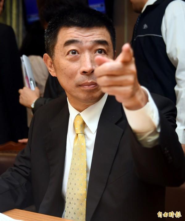 刑事警察局長劉柏良在立法院受訪否認彭婉如案有新嫌犯。(記者張嘉明攝)