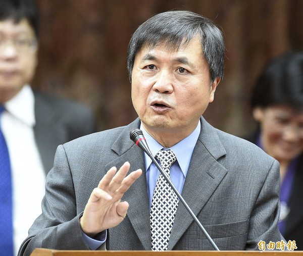 科技部長徐爵民表示,「真正要負責就是部長負責」。(資料照,記者陳志曲攝)