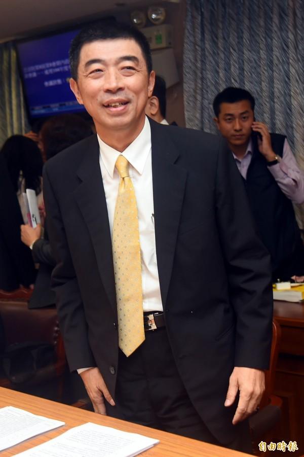 刑事警察局長劉柏良12日在立法院受訪否認彭婉如案有新嫌犯,強調仍然追查在追查中。(記者張嘉明攝)