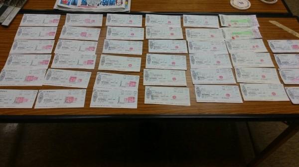 每月花15萬元包養沈姓酒女的王男,共簽40張本票與支票。(記者張瑞楨翻攝)