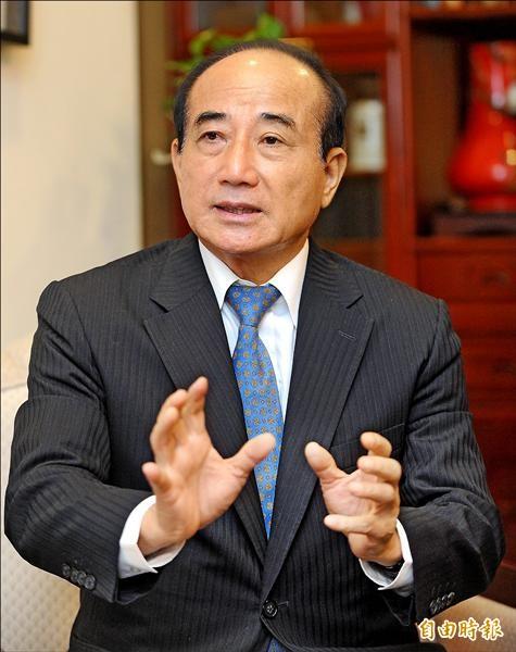 立法院長王金平。(記者劉信德攝)