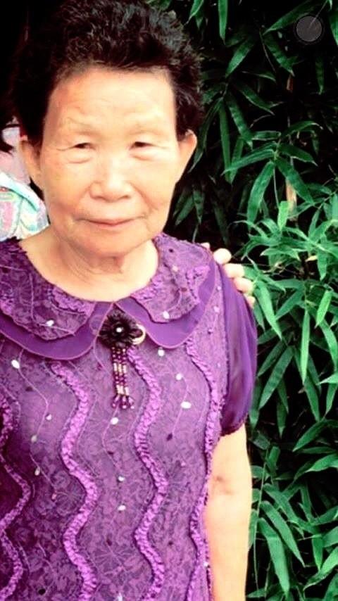77歲阿嬤王方金珠在花壇山區失蹤,家人拜託大家幫忙協尋。(記者張聰秋翻攝)