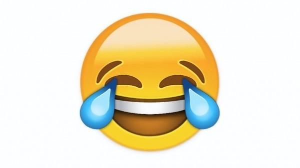 這個表情符號打敗難民等熱門候選,成為2015年牛津辭典年度詞彙。(取自《BBC》)