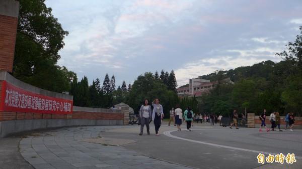 中華大學驚爆女大生如廁遭狼偷拍。(資料照,記者王駿杰攝)