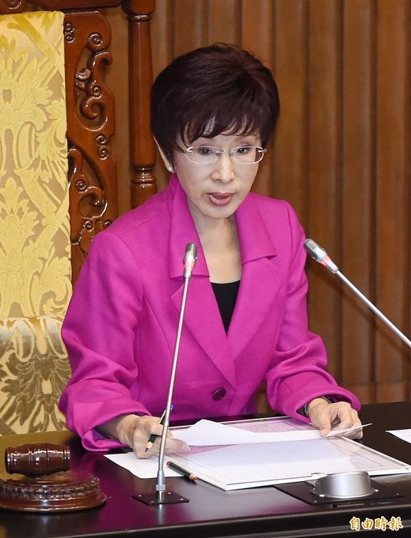 立法院副院長洪秀柱。(資料照,記者廖振輝攝)