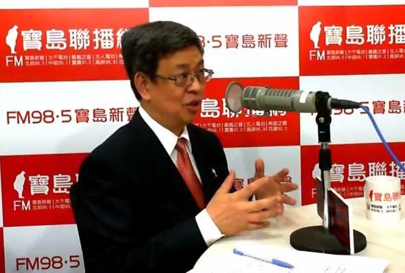 陳建仁透露,當時他告訴蔡英文,他會尊重她最後的決定,若最後副手人選不是他也沒關係。(圖擷取自寶島聯播網Youtube)