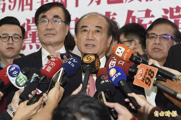國民黨評估立委選情樂觀,王金平更喊出以「國會過半」為目標。(資料照,記者陳志曲攝)