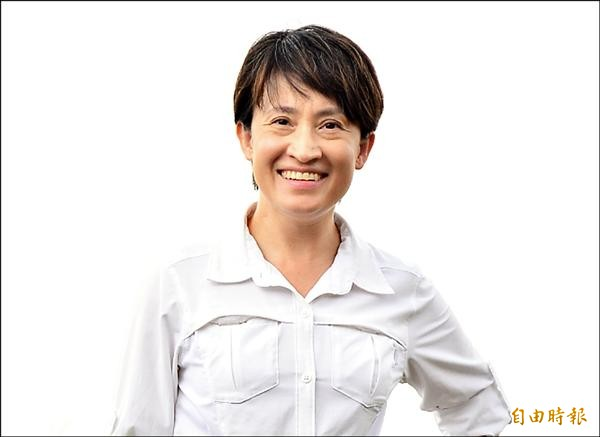 民進黨提名立委候選人蕭美琴。(記者游太郎攝)