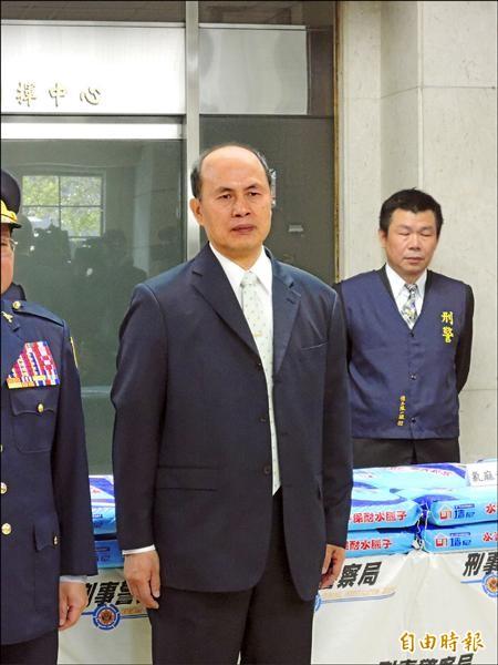 刑事局「毒品查緝中心」首任主任廖宗山。(記者邱俊福攝)