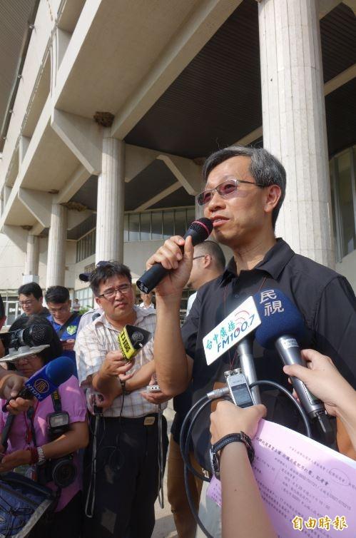 彰化縣衛生局長表示,魏應充無罪對衛生局是氣打擊甚鉅。(資料照,記者劉曉欣攝)