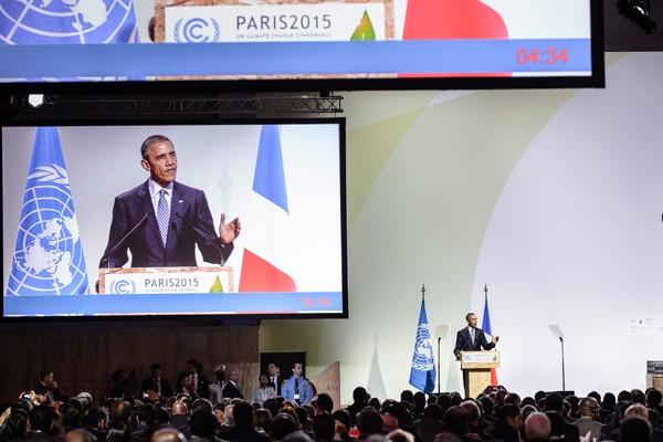 巴黎峰會11月30日登場。(歐新社)