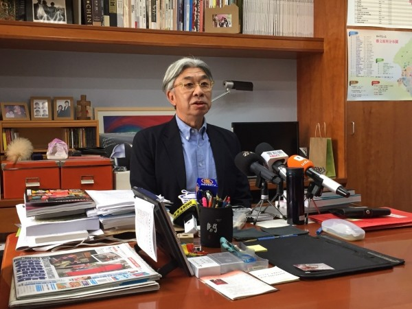 倪重華針對北影事件第三度道歉。(北市文化局提供)